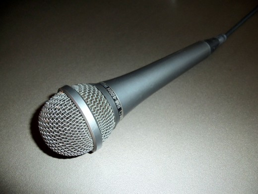 """Dynamic"" Microphone"
