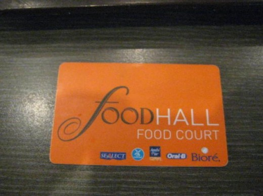 Siam Coupon Food Court Debit Card