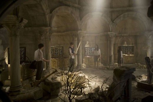 "The Treasure Chamber in ""The Chronicles of Narnia:  Prince Caspian"""