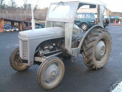Ferguson Grey Fergie Diesel Tractor