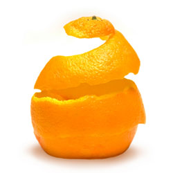 Cellulite - typical 'orange-peel' skin