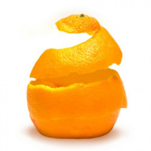 Cellulite - typical 'orange-peel' skin