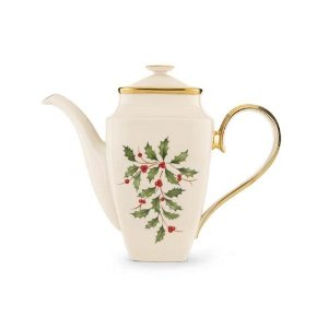 Lenox Coffee Pot