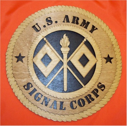 Army Signal Corps Crest