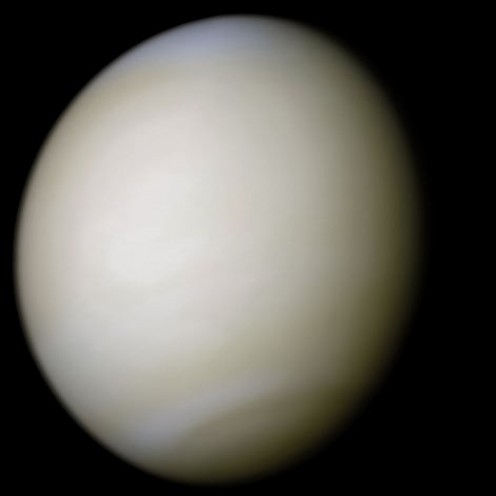 "Venus ~ Author: NASA/Ricardo Nunes This is a file from the Wikimedia Commons.  The copyright holder of this file allows anyone to use it for any purpose, provided that the creator is credited using the text ""Image processing by R. Nunes"" ~ http://ww"