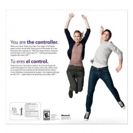 Xbox 360 with Kinect - You Are The Controller