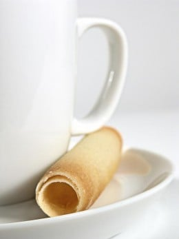 With these calorie saving tips you can afford to have a low fat pastry with your coffee.