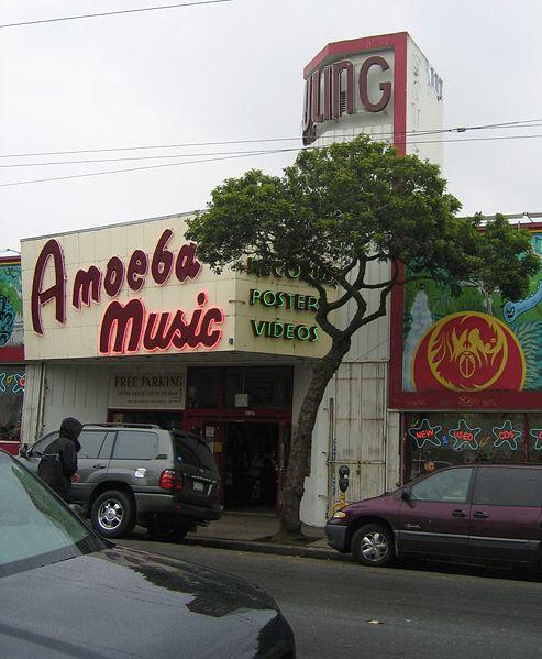 Amoeba Music record store on Haight street, San Francisco.