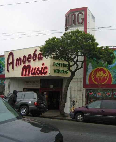 Amoeba Music record store on Haight street, San Francisco.