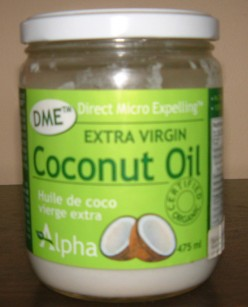 Extra Virgin Organic Alpha DME  Coconut Oil    Health Benefits