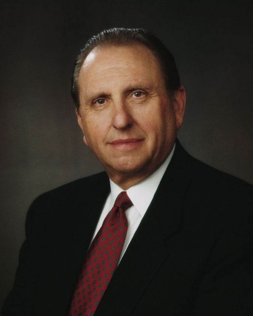 Thomas Spencer Monson is the 16th president of The Church of Jesus Christ of Latter-day Saints.