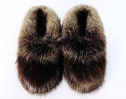 My friend gave me a pair of fur slippers just like these and I loved how they kept my feet warm.