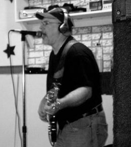 Recording in Jason Padilla's Chester Gap Sweat Shop Studio.