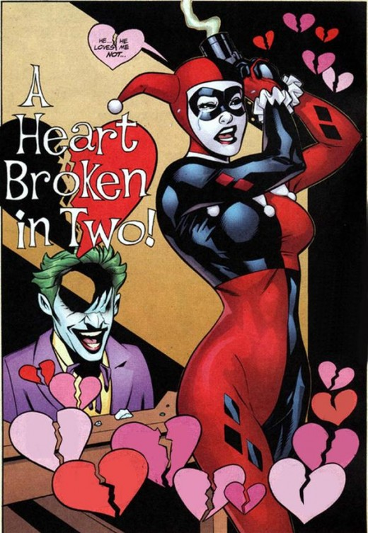 "A Harley cover from the ""Harley Quinn"" comics"