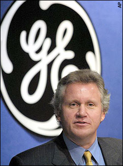 Jeffrey Immelt GE CEO 2001-Present