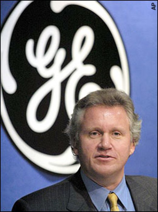 Jeffrey Immelt GE CEO 2001-Present