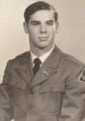 Cadet Pvt C. A. Ritenour 1970 a member of the 78th Brigade