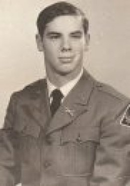 Cadet Pvt C. A. Ritenour 1970 a member of the 78th Brigade