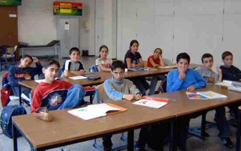 Arameans learning Aramaic