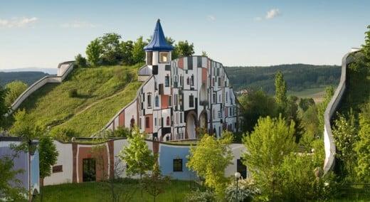 Thermendorf Blumau  hot springs village, Bad Blumau, Austria