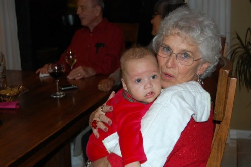 Xzavius & his Great grandmother