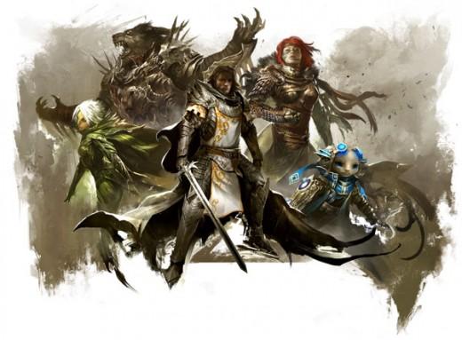 The members of Destiny's Edge