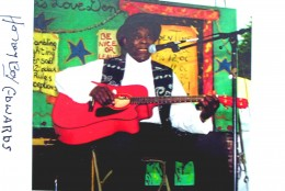 Honeyboy at the Chicago Blues Festival 2000