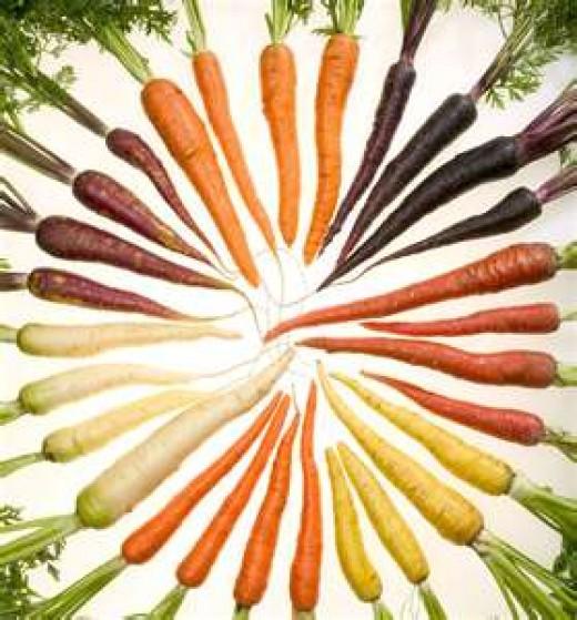 Carrots aren't just orange