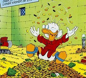 "Scrooge McDuck - ""The Original Rainmaker"""