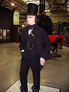 Image of the great man at Swindon Railway works