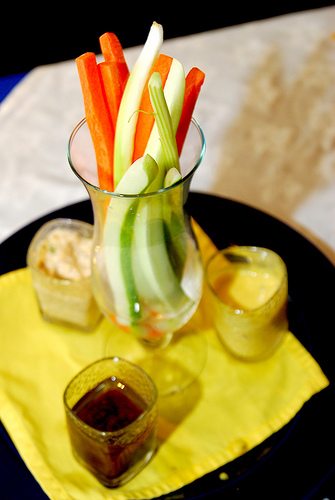 Celery and dip
