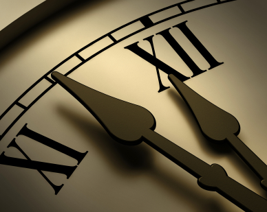 Traditional 'modern' clock