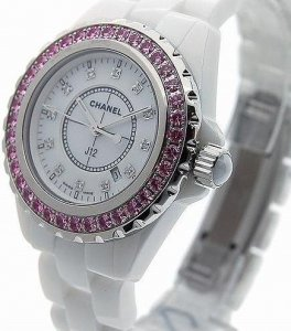 Chanel J12 White Ceramic Watch