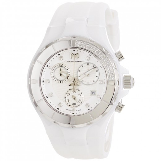 Technomarine Front Unisex White Ceramic Watch