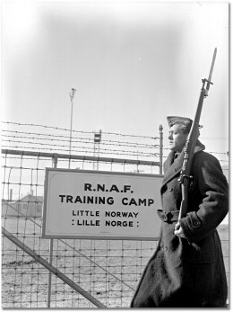 'Little Norway', first situated in Toronto, then near Gravenhurst, Muskoka, for Royal Norwegian Air Force training