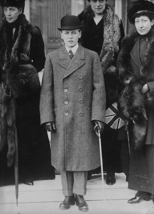 Crown Prince Olav of Norway, shown here as a young man, formally opened Little Norway in Muskoka.