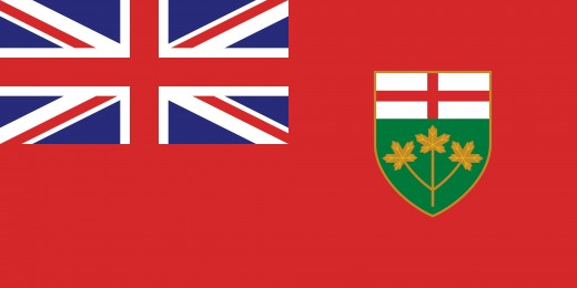 Flag of Ontario