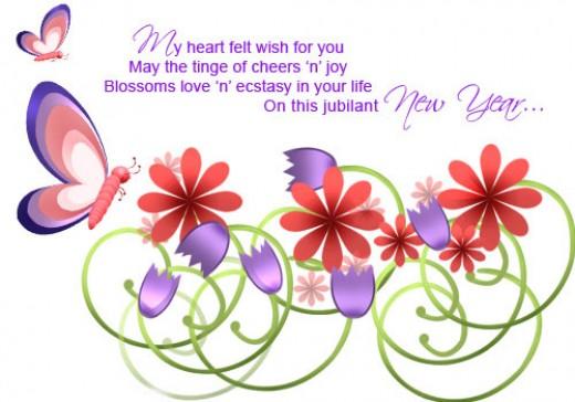 Heartfelt New Year Wish