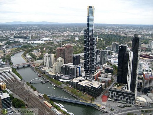 Melbourne from Rialto Towers