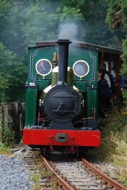 David Lloyd-Jones 2010 - 2ft Gauge Groudle Glen Railway on the Isle of Man original locomotive 'Sea Lion'.