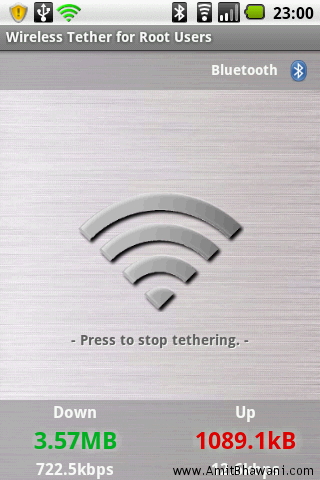 TETHER FOR ANDROID