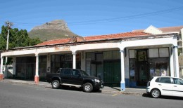 Some old shops in Kloof Street