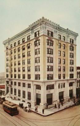 First National Bank Building in Houston Texas.