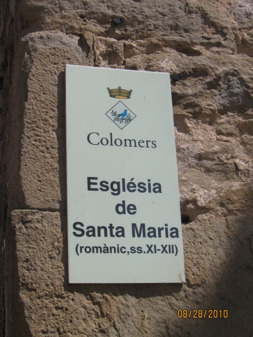 Colomes (Colomers). Catalonia. Spain. Copyright Tricia Mason. August 2010.
