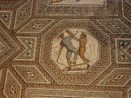 Roman mosaic at Nennig