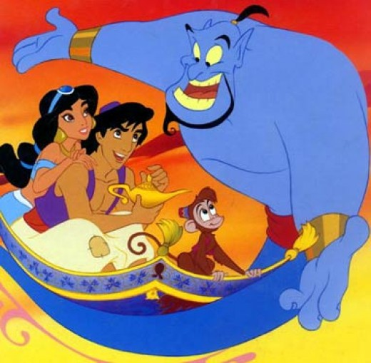 Aladdin and the gang are embracing it - so should we :P