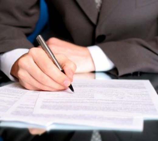 Documents needed to sign Student Loan.