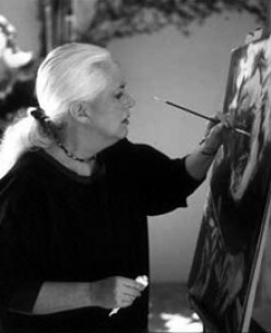 Grace while painting