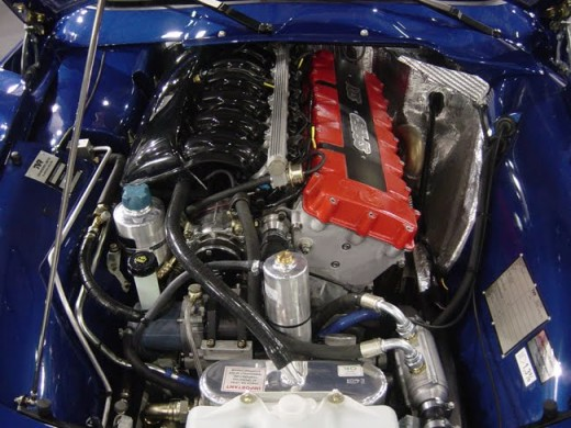TVR's own 'Speed Six' engine.