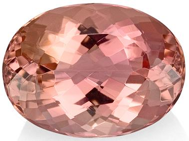 Pink Imperial Topaz Stone Oval Cut